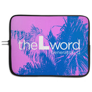 The L Word: Generation Q Palm Tree Logo Neoprene Laptop Sleeve