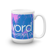 The L Word: Generation Q Palm Tree Logo White Mug