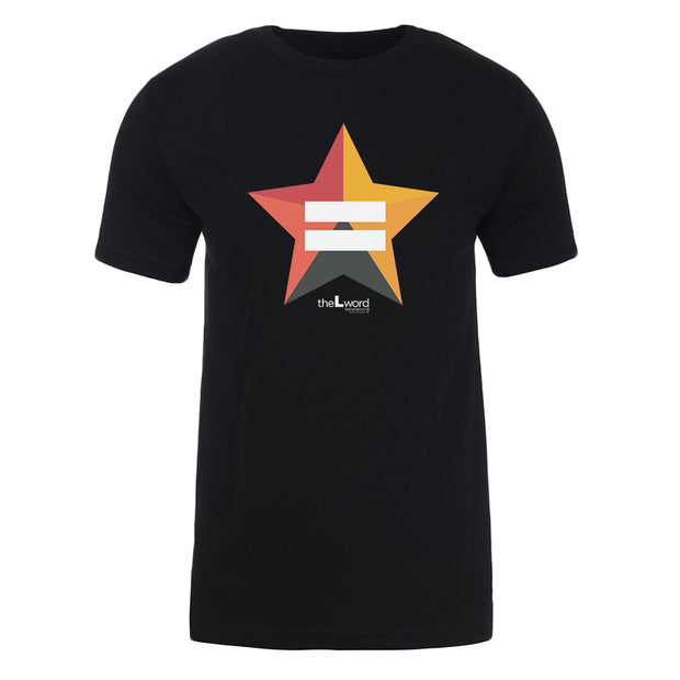The L Word: Generation Q Bette Porter's Equality Star Adult Short Sleeve T-Shirt