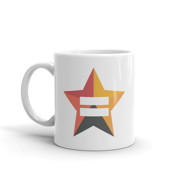 The L Word: Generation Q Bette Porter's Equality Star White Mug