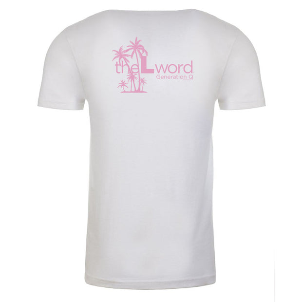 The L Word: Generation Q Palm Trees Adult Short Sleeve T-Shirt