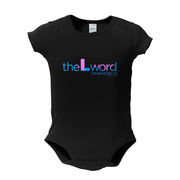 The L Word: Generation Q Tropical Logo Baby Bodysuit