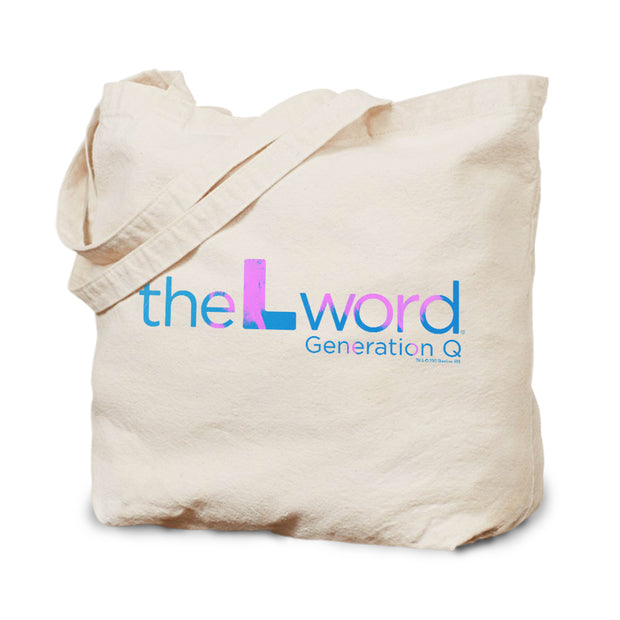 The L Word: Generation Q Tropical Logo Canvas Tote