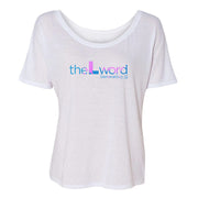 The L Word: Generation Q Tropical Logo Women's Relaxed T-Shirt