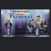 Our Cartoon President Who Will Be the Next Cartoon President? Adult Long Sleeve T-Shirt