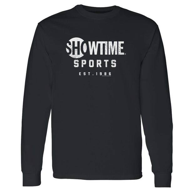 SHOWTIME Sports Est. 1986 Adult Long Sleeve T-Shirt