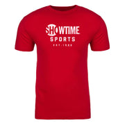 SHOWTIME Sports Est. 1986 Adult Short Sleeve T-Shirt