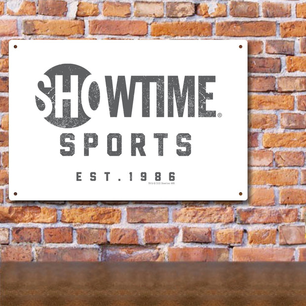 SHOWTIME Sports Est. 1986 Metal Sign