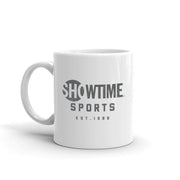 SHOWTIME Sports Est. 1986 White Mug