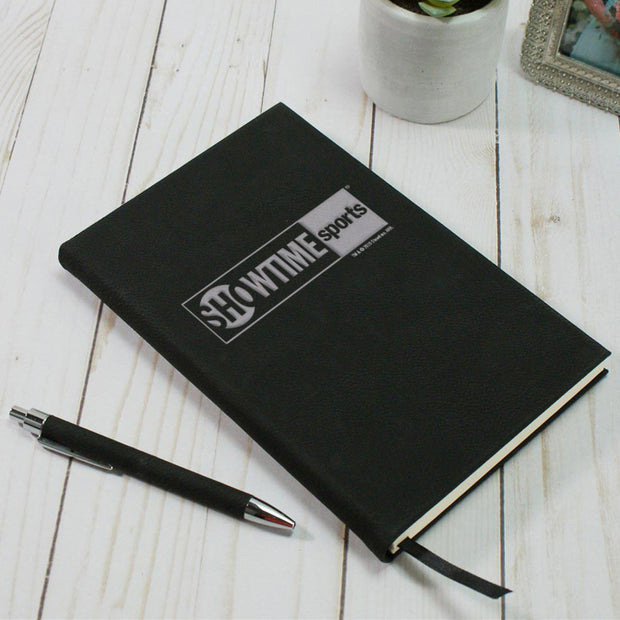 SHOWTIME Sports Black & White Outline Logo Journal