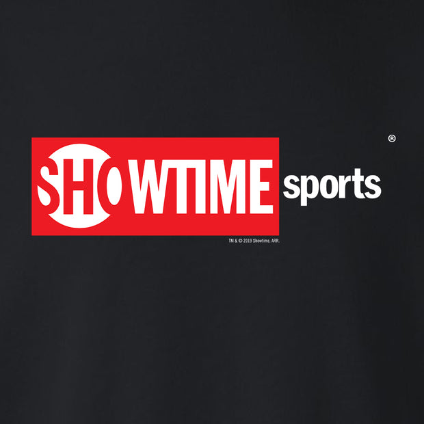 SHOWTIME Sports Red Box Logo Fleece Crewneck Sweatshirt