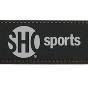 SHOWTIME Sports SHO Sports Red Bug Outline Logo Leather Bottle Opener