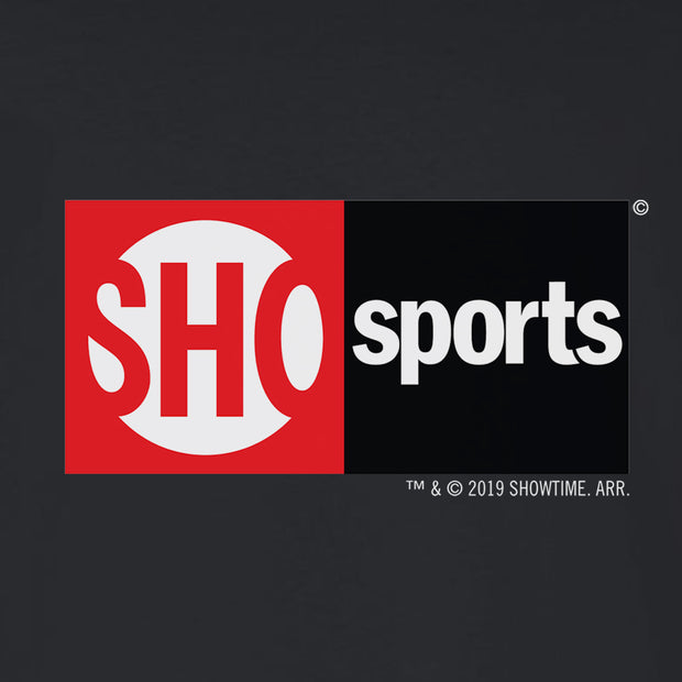 SHOWTIME Sports SHO Sports Red Bug Logo Adult Long Sleeve T-Shirt