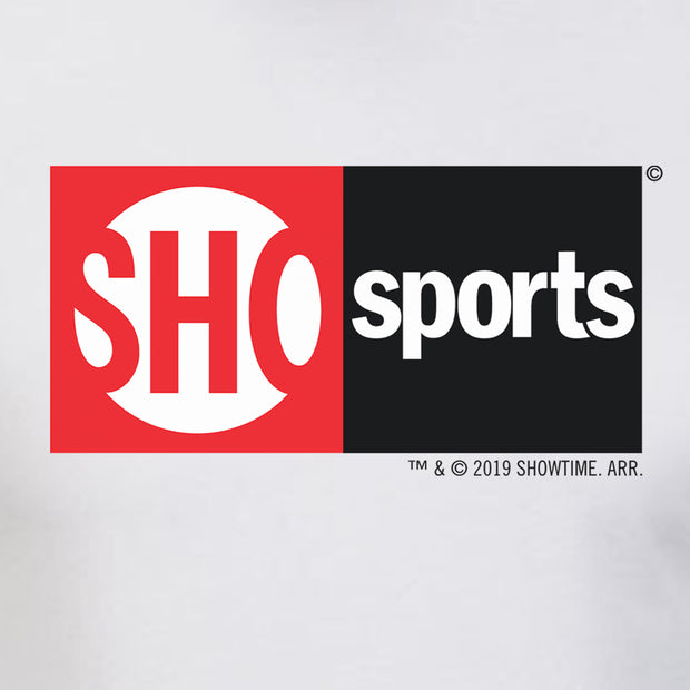 SHOWTIME Sports SHO Sports Red Bug Logo Adult Short Sleeve T-Shirt