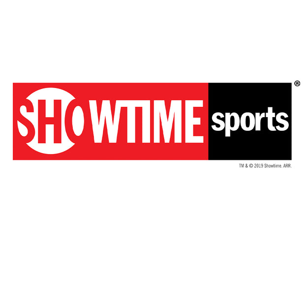 SHOWTIME Sports Red Logo Drawstring Bag