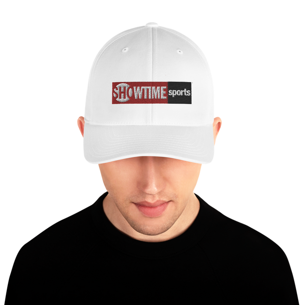 SHOWTIME Sports Red Logo Embroidered Hat