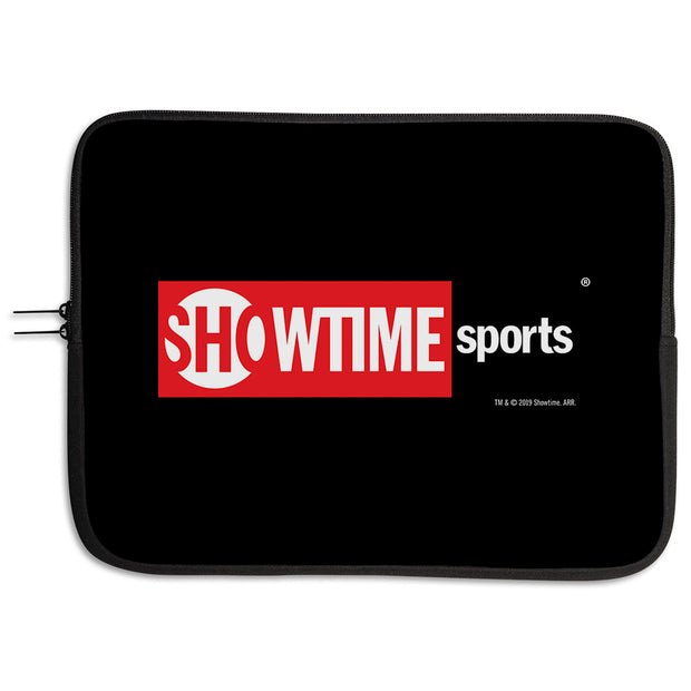 SHOWTIME Sports Red Logo Neoprene Laptop Sleeve