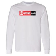 SHOWTIME Sports Red Logo Adult Long Sleeve T-Shirt