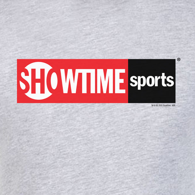 SHOWTIME Sports Red Logo Adult Short Sleeve T-Shirt