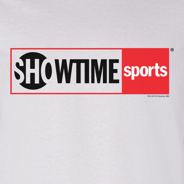 SHOWTIME Sports Red Outline Logo Adult Long Sleeve T-Shirt
