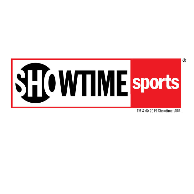 SHOWTIME Sports Red Outline Logo White Mug