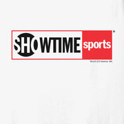 SHOWTIME Sports Red Outline Log Adult Tank Top