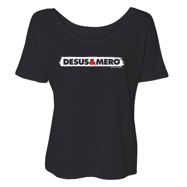 Desus & Mero Production Logo Women's Relaxed T-Shirt