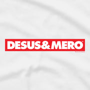 Desus & Mero Red & White Logo Adult Short Sleeve T-Shirt