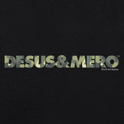 Desus & Mero Camo Logo Adult Short Sleeve T-Shirt