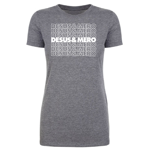 Desus & Mero Repeat Women's Tri-Blend T-Shirt
