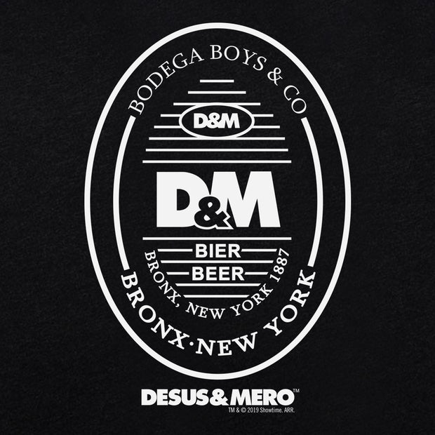 Desus & Mero Beer Label Women's Tri-Blend T-Shirt