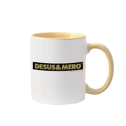 Desus & Mero Yellow Striped Two-Tone Mug