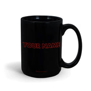 Desus & Mero Neon Sign Personalized 15 oz Black Mug