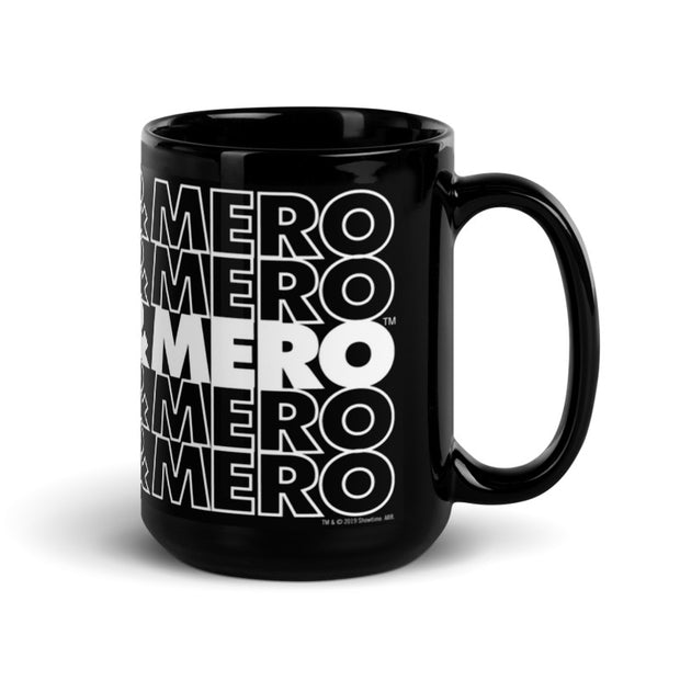 Desus & Mero Repeat 15 oz Black Mug