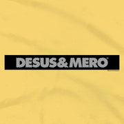 Desus & Mero Striped Logo Adult Short Sleeve T-Shirt