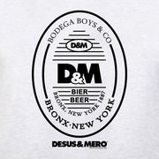 Desus & Mero Beer Label Men's Tri-Blend T-Shirt