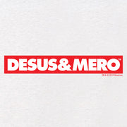 Desus & Mero Red & White Logo Women's Tri-Blend Dolman T-Shirt