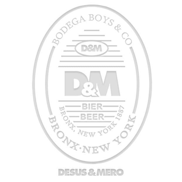 Desus & Mero Beer Label Laser Etched Pint Glass