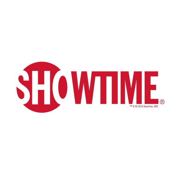 SHOWTIME Logo Women's Relaxed V-Neck T-Shirt