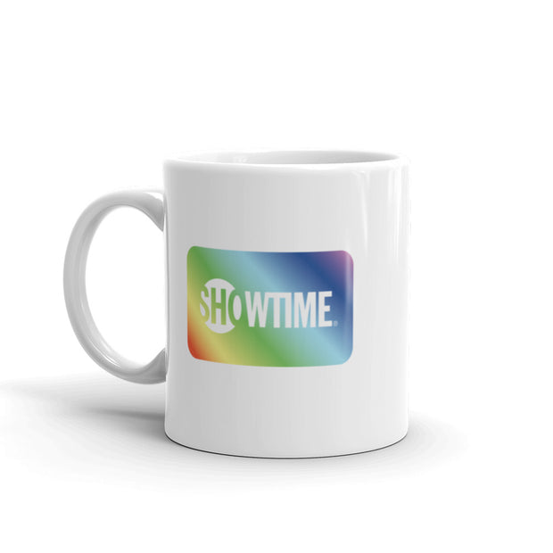 SHOWTIME Pride Box 11 oz White Mug