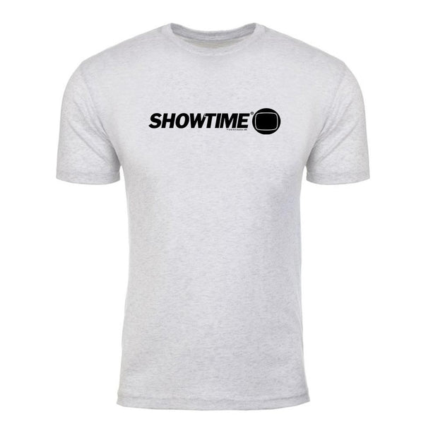 SHOWTIME Retro Logo Men's Tri-Blend T-Shirt