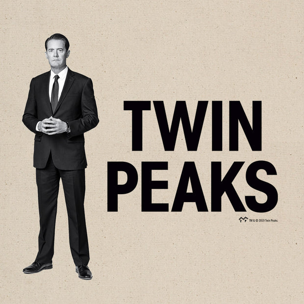 Twin Peaks Agent Cooper Canvas Tote Bag