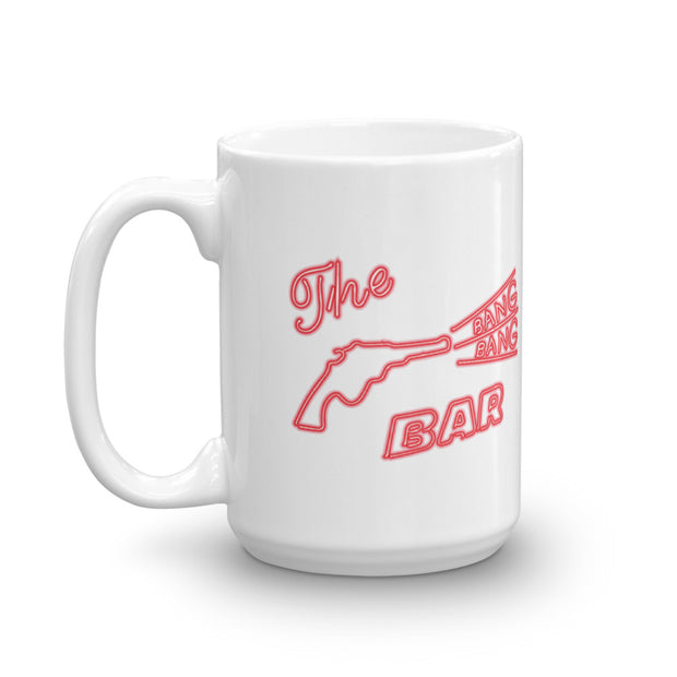 Twin Peaks Bang Bang Bar White Mug