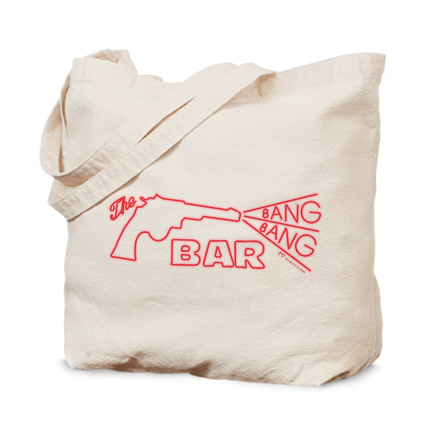 Twin Peaks Bang Bang Bar Canvas Tote Bag