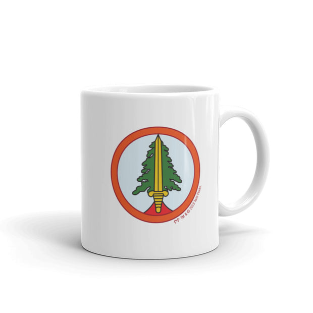 Twin Peaks Bookhouse Boys Patch White Mug
