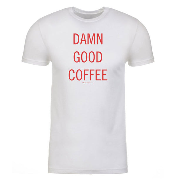 Twin Peaks Damn Good Coffee Adult Short Sleeve T-Shirt