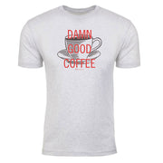 Twin Peaks Damn Good Coffee Cup Men's Tri-Blend T-Shirt