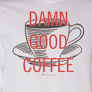 Twin Peaks Damn Good Coffee Cup Adult Long Sleeve T-Shirt