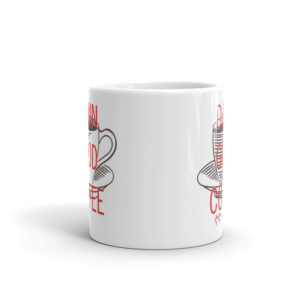 Twin Peaks Damn Good Coffee Cup White Mug