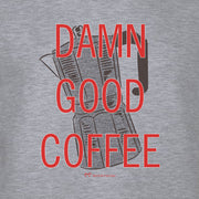 Twin Peaks Damn Good Coffee French Press Fleece Crewneck Sweatshirt